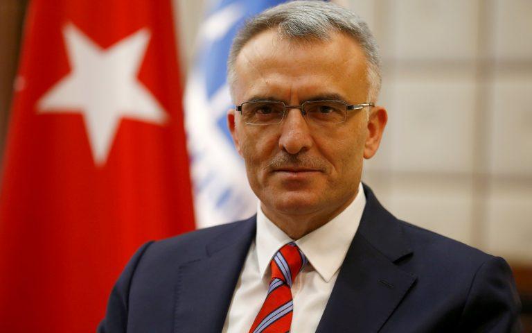 O νέος διοικητής της κεντρικής τράπεζας της Τουρκίας Νατσί Αγκμπάλ  φωτ. REUTERS CONNECT