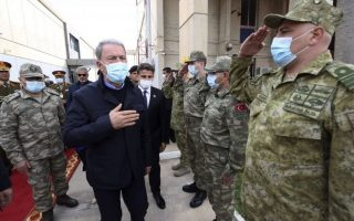Φωτ. Τουρκικό υπουργείο Άμυνας via AP