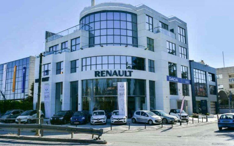 Το κτίριο της Renault στην Λεωφ. Κηφισίας 278 στο Χαλάνδρι