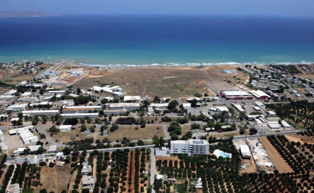 Τμήμα της πρώην αμερικανικής βάσης στις Γούρνες Ηρακλείου Κρήτης