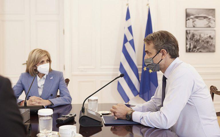 φωτ.: Γ.Τ. Πρωθυπουργού/ Δημήτρης Παπαμήτσος