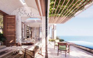 Από τα σχέδια πωλούνται οι υπερπολυτελείς κατοικίες του One&Only Kea