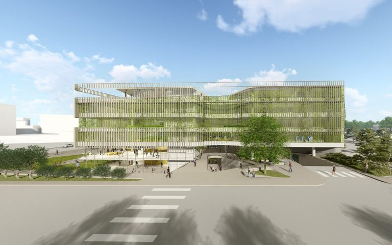 Μακέτα του νέου κτηρίου της Γεν.Γραμματείας Υποδομών