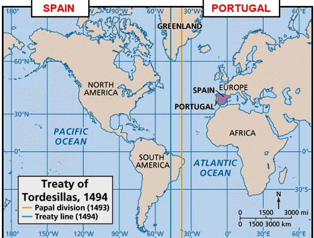Tordesillias Treaty