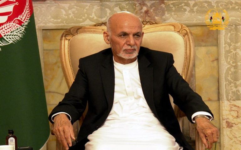 Φωτ. Afghan Presidential Palace/ Handout via REUTERS