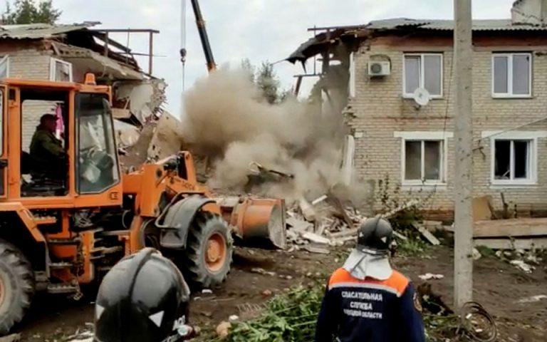 Φωτ. Russian Emergency Ministry/ Handout via REUTERS