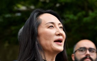 Huawei Technologies Chief Financial Officer Meng Wanzhou leaves court and the conclusion of a hearing in Vancouver, British Columbia, Canada September 24, 2021. REUTERS/Jennifer Gauthier