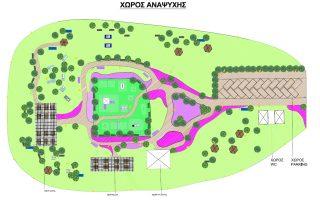 Το project περιλαμβάνει την τοποθέτηση φωτοβολταϊκών, αλλά και τη δημιουργία χώρων αναψυχής και πρασίνου.